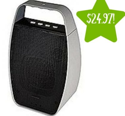 Sears: NXG Technology NX-WRLSM-GRAY Portable Wireless Bluetooth Speaker Only $24.97 (Reg. $65)