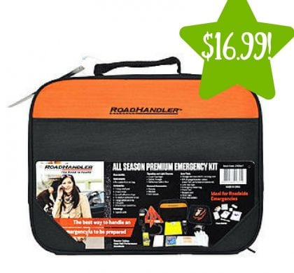 Kmart: RoadHandler Premium Auto Emergency Kit Only $16.99 (Reg. $40, Today Only)