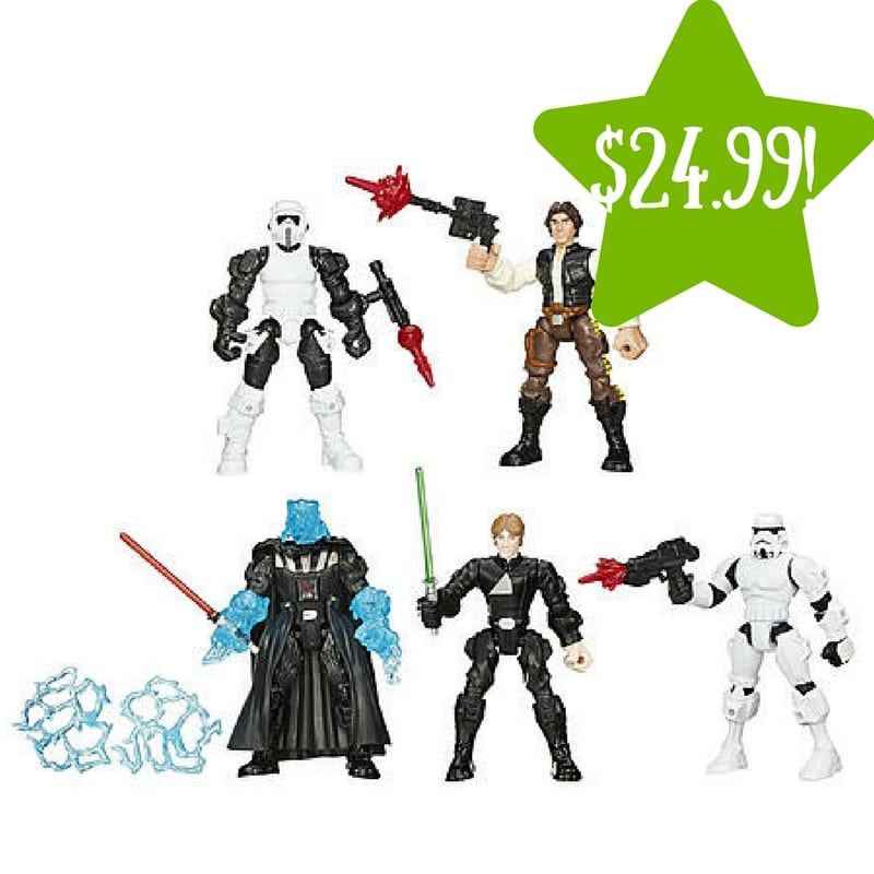 Kmart: Star Wars Hero Mashers Return of the Jedi Multi-pack Only $24.99 (Reg. $50, Today Only)