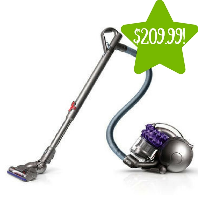 Sears: Dyson Animal Bagless Canister Vacuum Only $209.99 (Reg. $400)