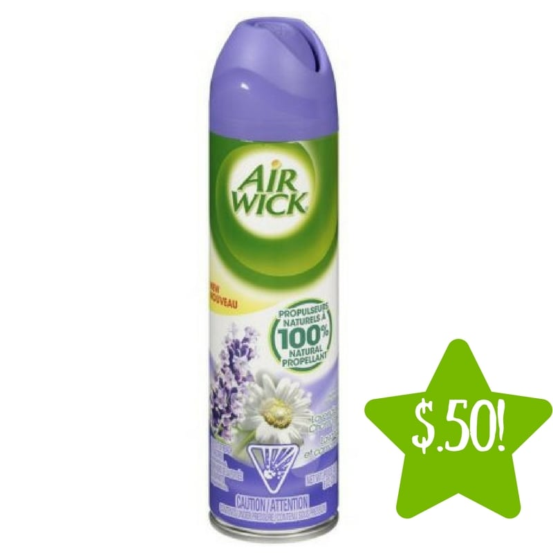 Dollar Tree: Air Wick Air Freshener Only $0.50