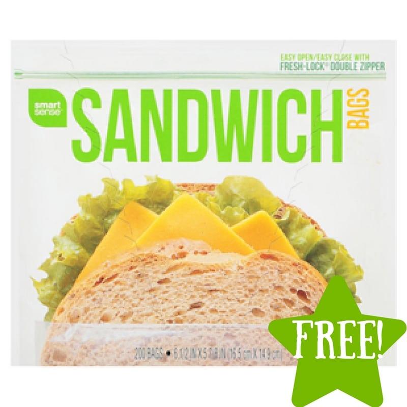 Kmart: FREE Smart Sense Sandwich Bags (7/28-7/30) LOAD TODAY