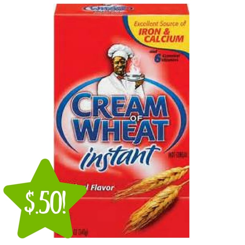 Dollar Tree: Cream of Wheat Instant Hot Cereal Only $0.50