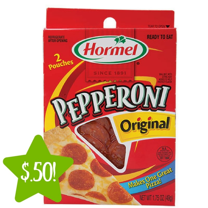 Dollar Tree: Hormel Pepperoni Only $0.50