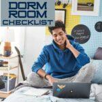 Dorm Room Checklist Square