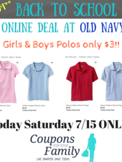Old Nay polos