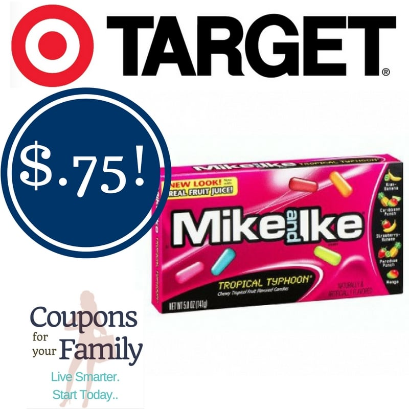 Target: Mike and Ike Candy Only $0.75