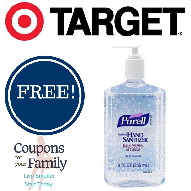 target purell coupon