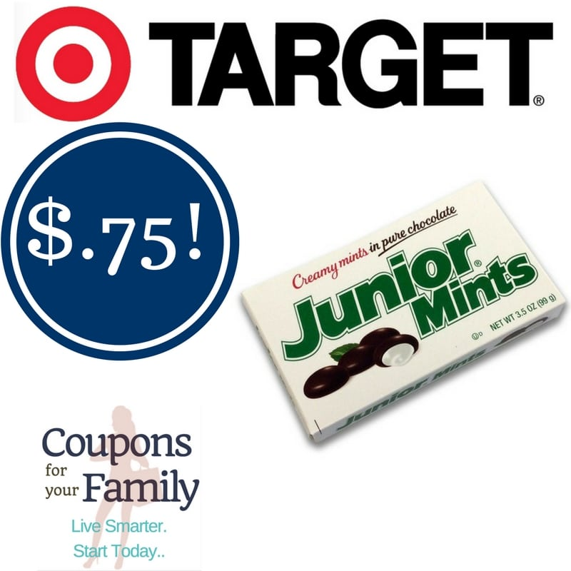 Target: Junior Mints Candy Only $0.75