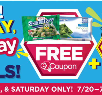Tops E Coupons: This weeks Three Day Free-Day deals-> Free Tops Frozen Veggies &  Little Debbie Cakes plus $.69 Coke 2 ltr and $.99 Canteloupe!!
