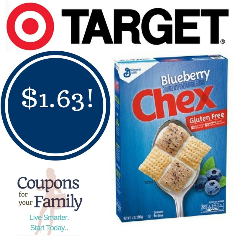 Target: General Mills Blueberry Chex Cereal Only $1.63
