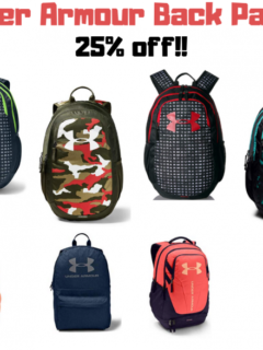 Under Armour Back Packs
