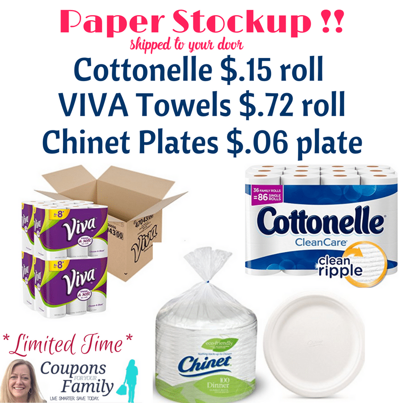 Paper plate coupons
