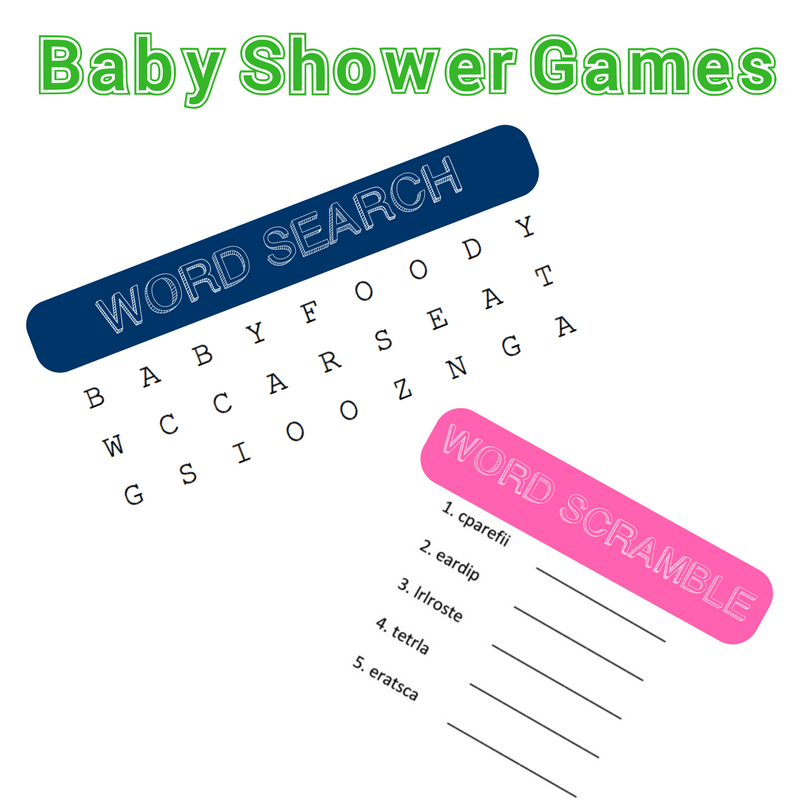 Baby Shower on A Budget- Games