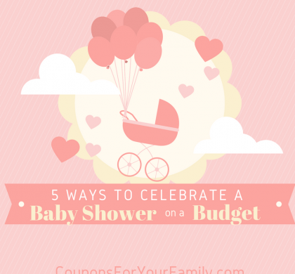 5 Ways to Celebrate a Baby Shower on a Budget!