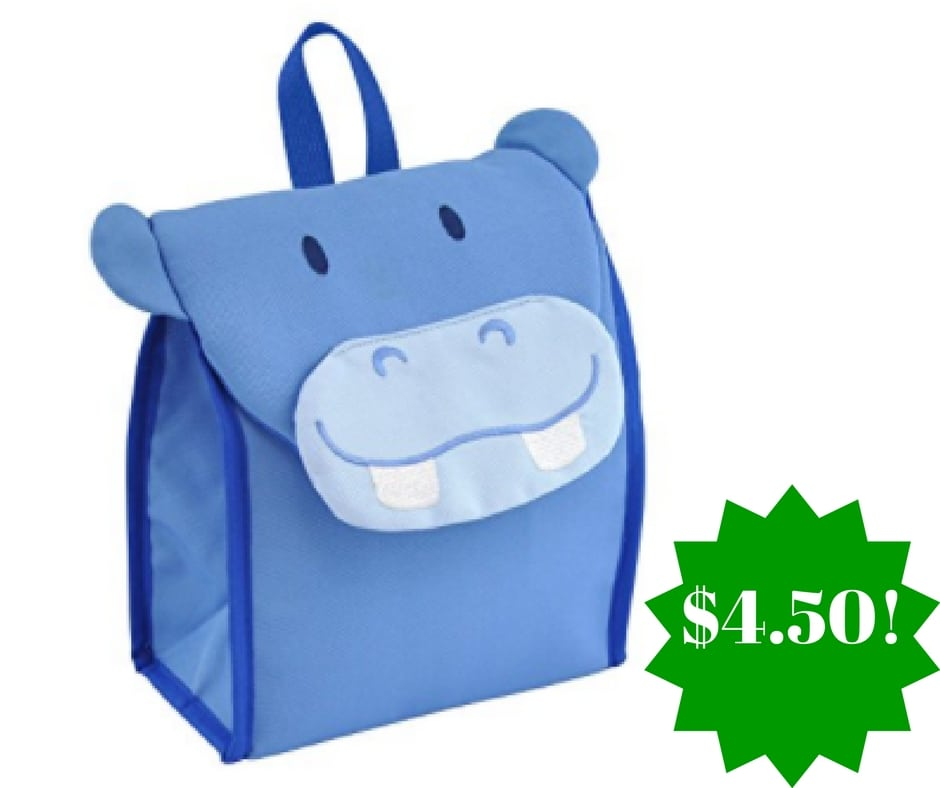 Amazon: Green Sprouts Insulated Blue Hippo Lunch Bag Only $4.50
