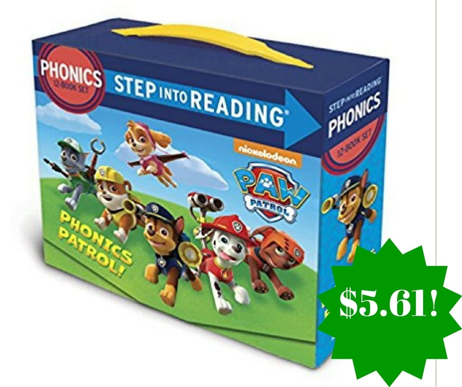 Amazon: Paw Patrol Phonics Box Set Only $5.91 (Reg. $13)