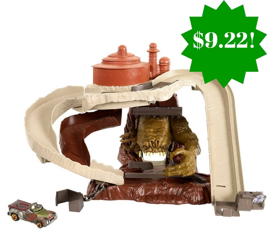 Amazon: Hot Wheels Star Wars Rancor Rumble Track Set Only $9.22 (Reg. $25)