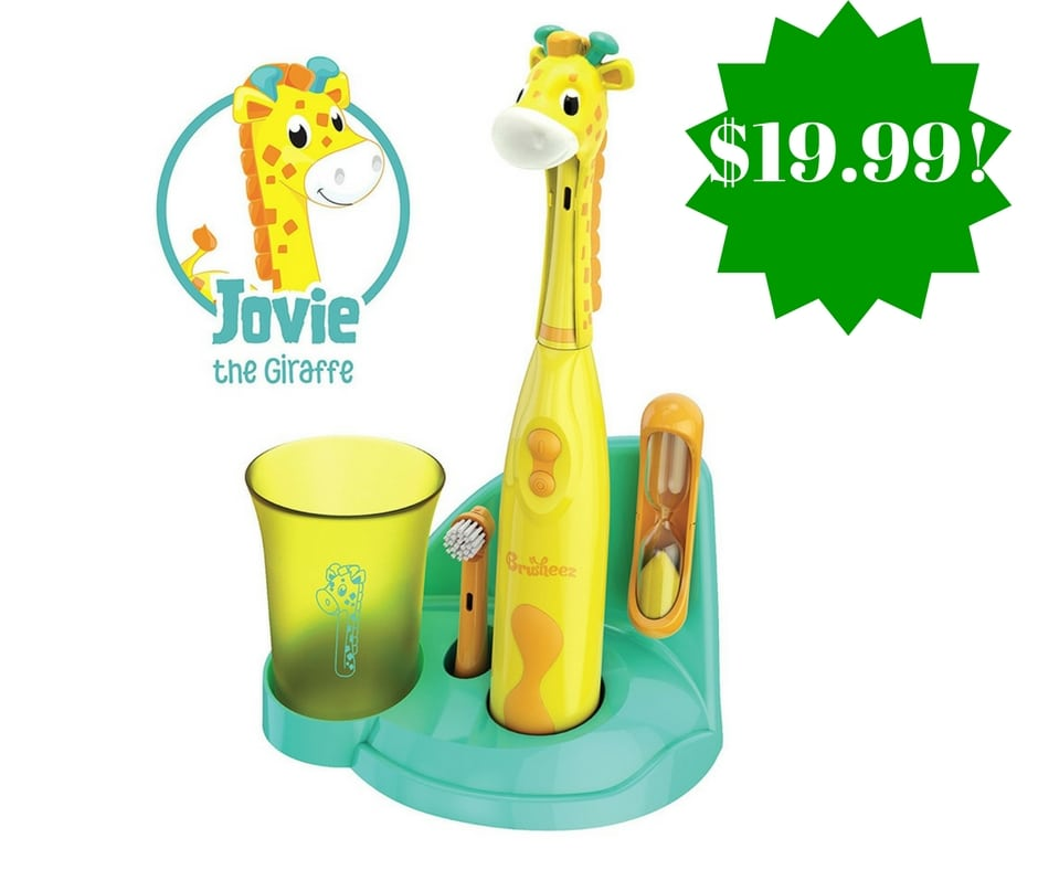 Amazon: Brusheez Children's Electronic Toothbrush Set Only $19.99 (Reg. $35)