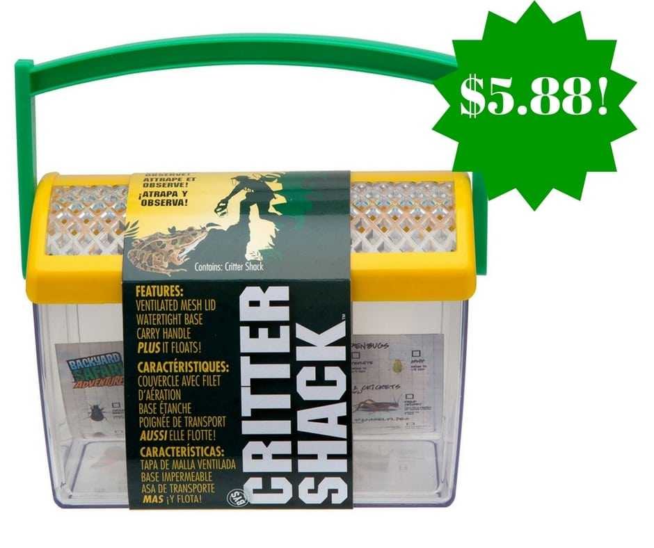 Amazon: Backyard Safari Critter Shack Only $5.88 (Reg. $10)