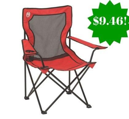 Amazon: Coleman Broadband Mesh Quad Chair Only $9.46 (Reg. $24)