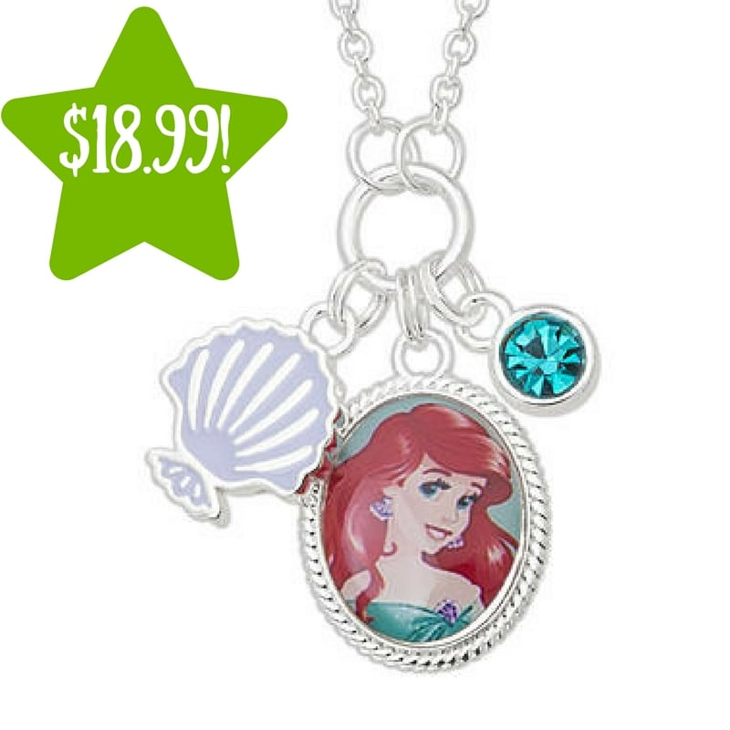 Kmart: Disney Silver Plated Brass Ariel Necklace Only $18.99 (Reg. $100, Today Only)