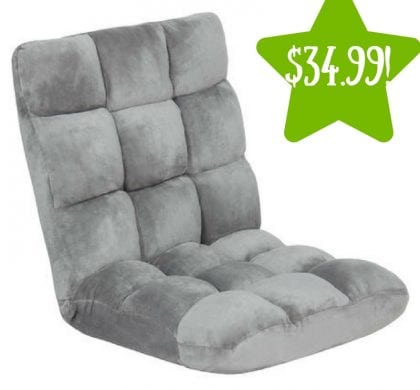 Sears: Adjustable Cushioned Floor Gaming Chair Only $34.99 (Reg. $130, Today Only)
