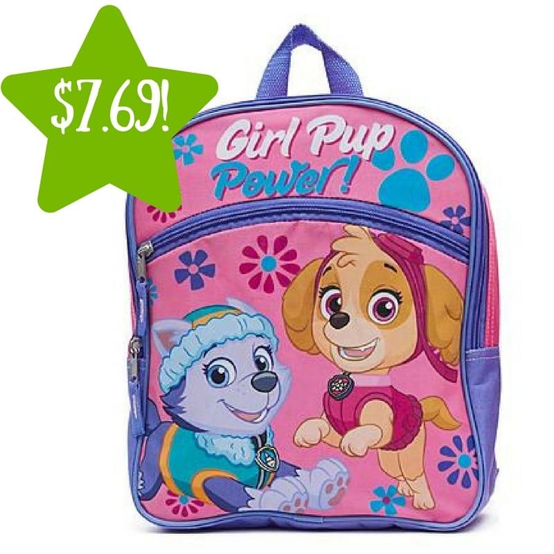 Kmart: Nickelodeon Girls Paw Patrol Backpack Only $7.69 (Reg. $11)