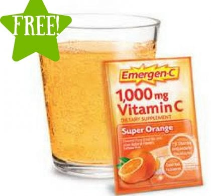 FREE Sample Packet of Emergen-C