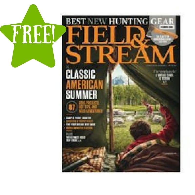 FREE Field & Stream Magazine Subscription