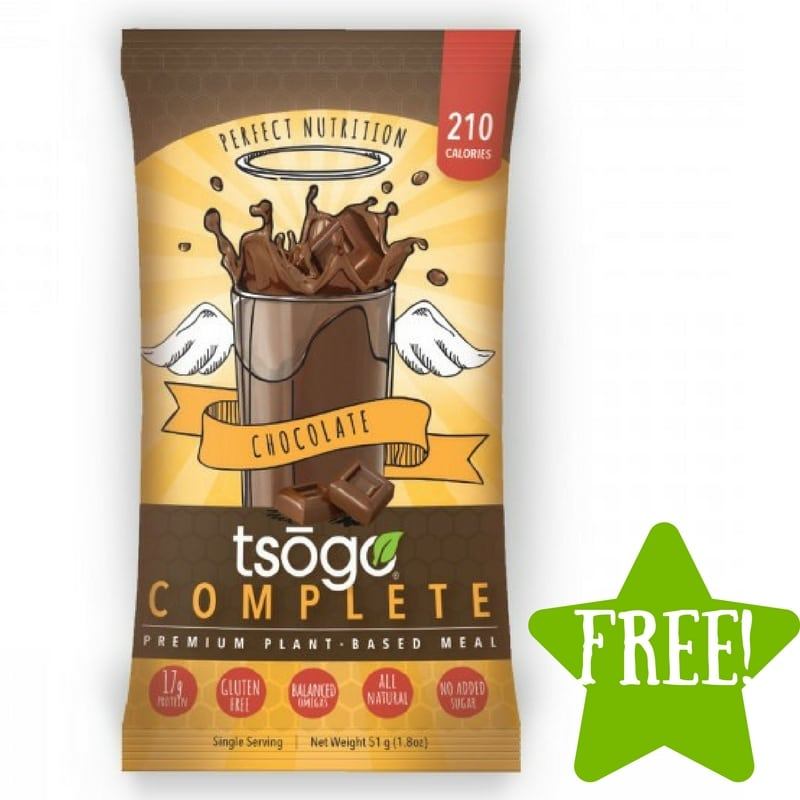 FREE Tsogo Meal Replacement Shakes Sample