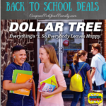 Dollar Tree Back To School Deals