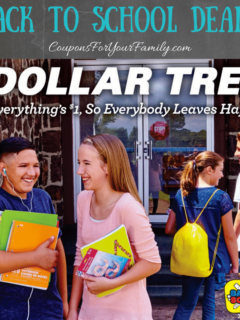Dollar Tree Back To School Deals