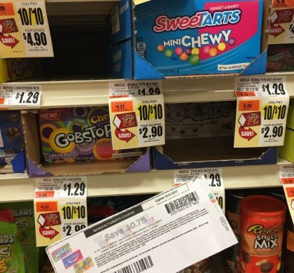 Nestle Candy Boxes only $.25 at Tops!!