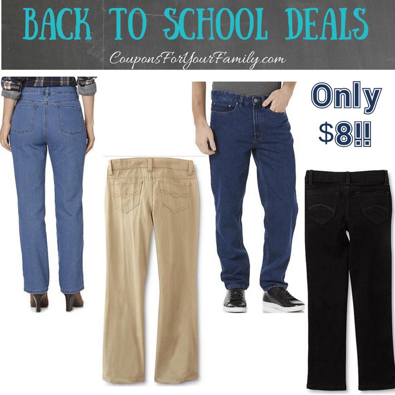 Kmart Jeans Blowout Sale~~ as low as $8 per pair!!! #DenimAtKmart