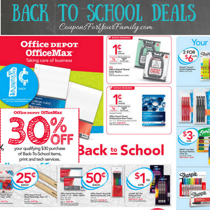 Office Supply Stores Archives | Coupons For Your Family