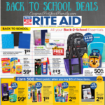 Rite Aid Back to School Deals