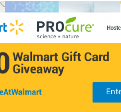 Enter the $500 Walmart Gift Card Giveaway NOW~~ Easy Entry!!! *Ends 8/8/17*