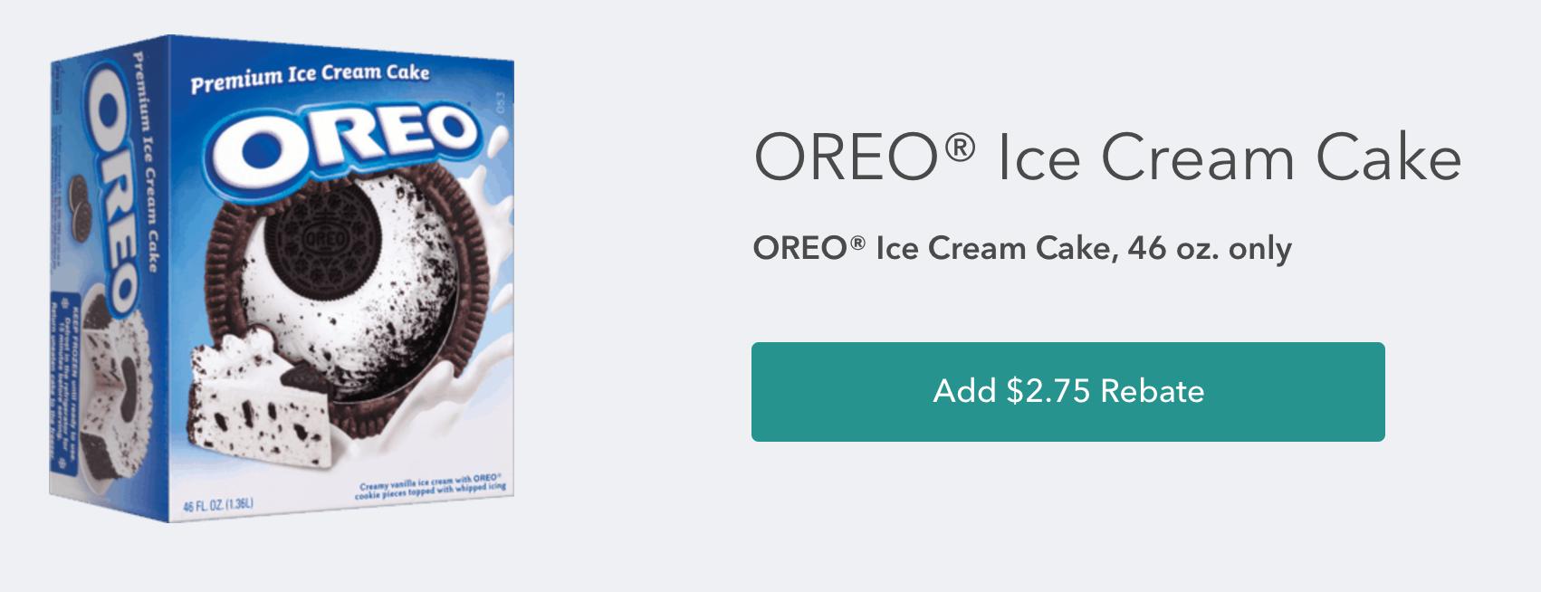 Coupon For Oreo Ice Cream Cake