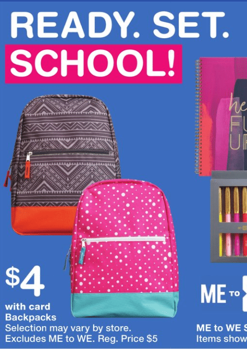 Walgreens Back to School Deals