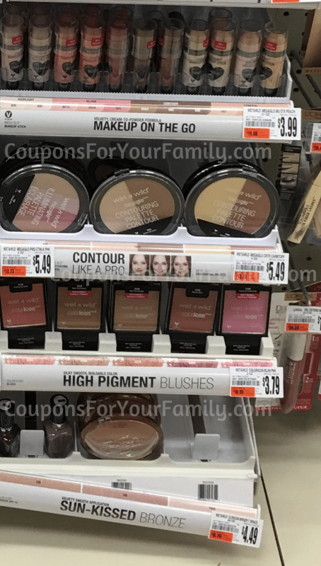 use 11 wet n wild face product direct printable coupon here less 1