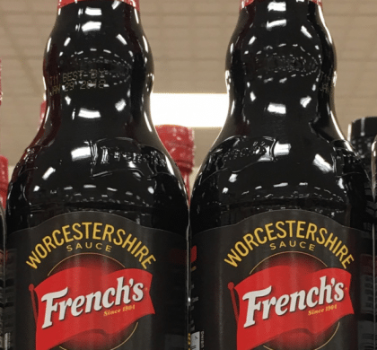Frenchs Worcestershire Sauce only $1.39 with stacked offers at Tops- buy before Weds!!
