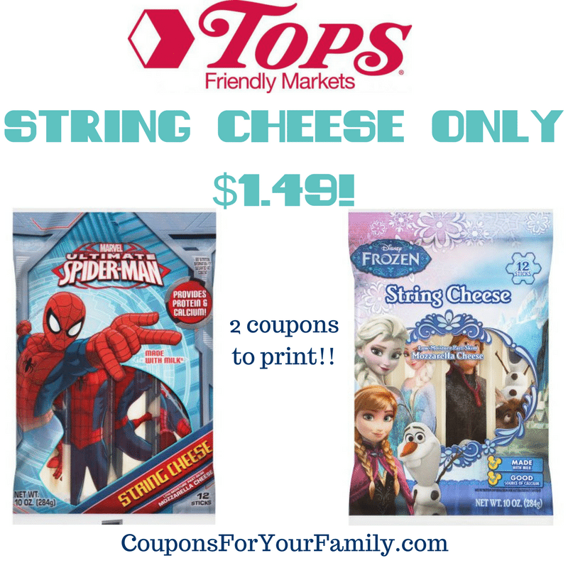 String Cheese only $1.49!