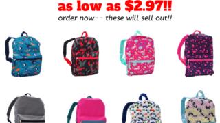 walmart kids backpacks