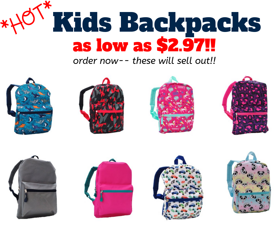 walmart kids backpacks