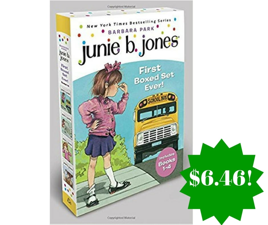 Amazon: Junie B. Jones's First Boxed Set Ever Only $6.46 (Reg. $20)