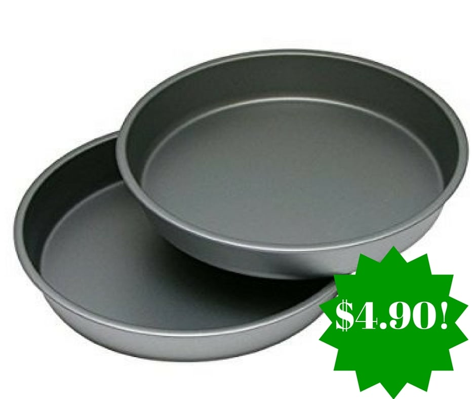 Amazon: Non-Stick Round Cake Pan 2 Piece Set Only $4.90 (Reg. $10)