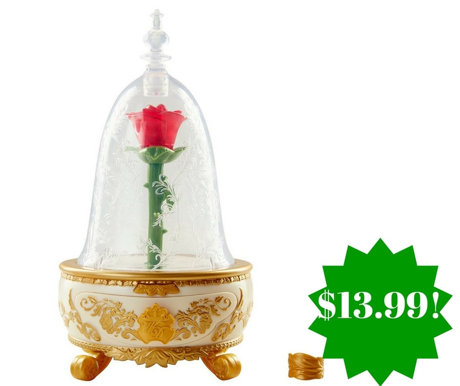 Amazon: Beauty & The Beast Live Action Enchanted Rose Jewelry Box Toy Only $13.99 (Reg. $40)