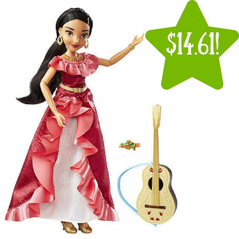 Kmart: Disney Elena of Avalor My Time Singing Doll Only $14.61 (Reg. $31)
