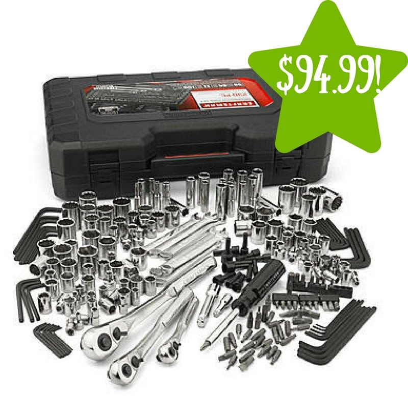 Sears: Craftsman 230 piece Inch and Metric Mechanic's Tool Set Only $94.99 (Reg. $200)